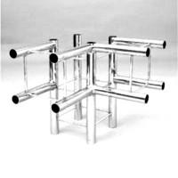 Соединитель 3-х квадратных колонн Tritix