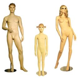 Пластиковые манекены (куклы)