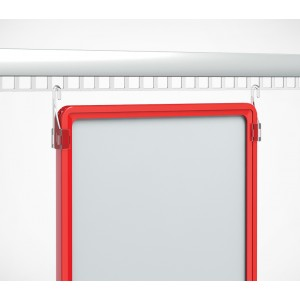 Крючок для подвешивания пластиковых рамок форматов А6-А3.