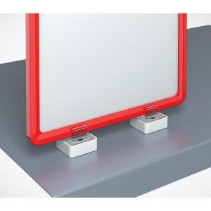 Магнитный держатель рамки под углом 90° к поверхности