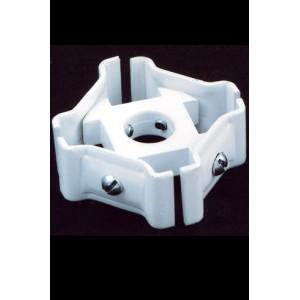 Соединитель 4-х лучевой / Стойки, дисплеи для печатной продукции