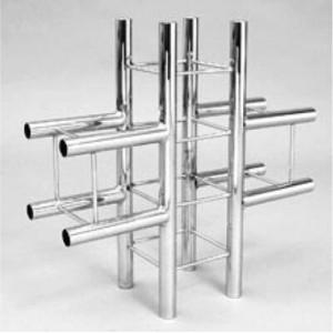 Соединитель 4-х квадратных колонн / Система труб Tritix (Тритикс)