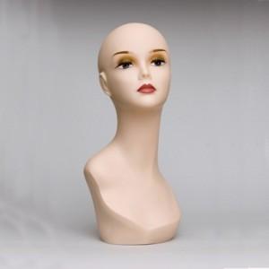 Манекен голова женская с бюстом FL-01